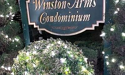 Community Signage, 1307 Inwood Terrace, 2