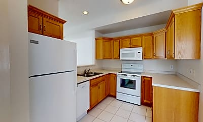 Kitchen, Crystal Bay Townhomes, 1