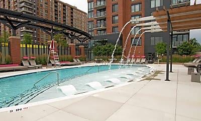 Pool, Aurora Apartments At North Bethesda Center, 1