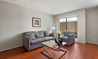 Living Room, The Palms Apartments, 2