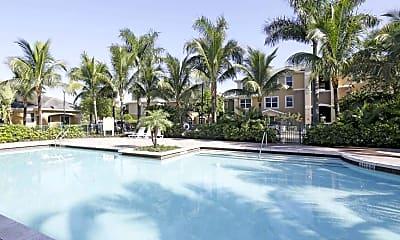 Pool, Lakeshore Apartments, 1