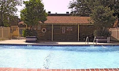 Pool, Christy Estates Apartments, 2
