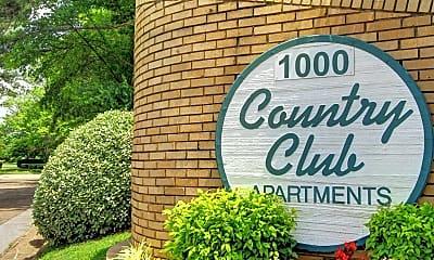 Community Signage, Country Club, 1