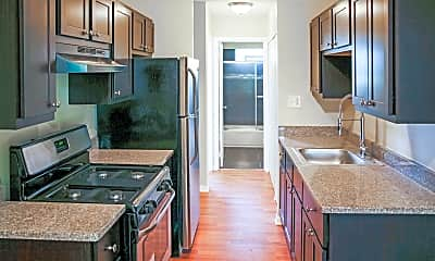 Kitchen, Parkside Apartments, 0