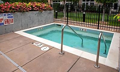 Pool, 800 N 3rd St 521, 2