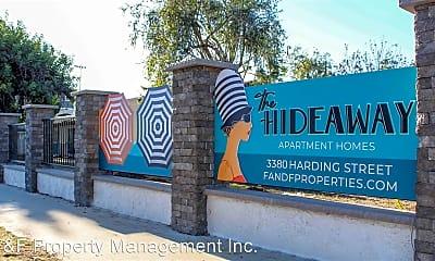 Community Signage, 3380 Harding St, 1