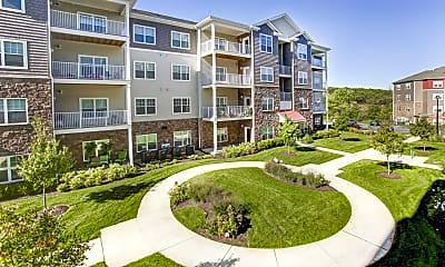 Courtyard, The Fred Apartment Homes, 0