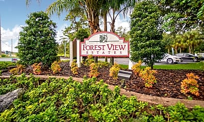 Community Signage, Forest View, 2