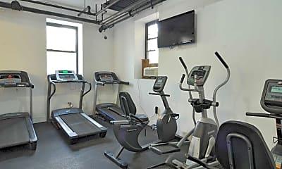 Fitness Weight Room, 111 S. Harrison Street, 2