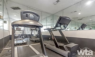 Fitness Weight Room, 2425 Cromwell Cr, 1