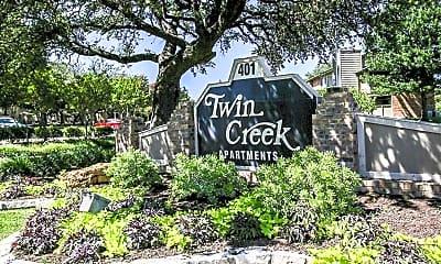 Community Signage, Twin Creek Apartments, 0