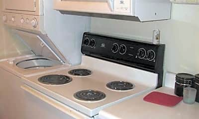 Kitchen, College Station Apartments, 1