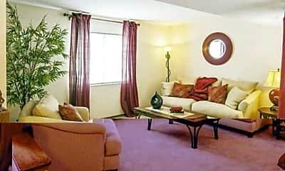 Living Room, Stoney Creek Apartments, 2