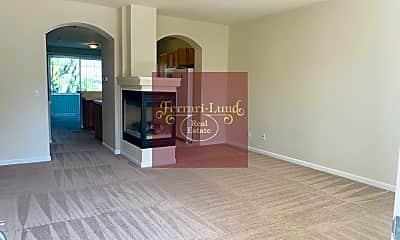 Living Room, 415 Preston Burr Lane, 1