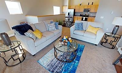 Living Room, Maple Ridge Villas, 1