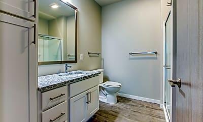 Bathroom, Stagecoach Trail Apartments, 2