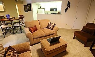 Living Room, Dixon at Stonegate, 1