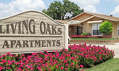 Community Signage, Living Oaks Apartments, 0
