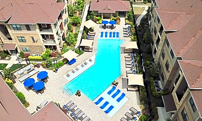 Pool, The Sovereign Apartments, 1