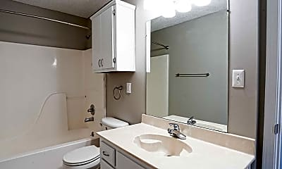 Bathroom, Shelby Grove Apartments, 2