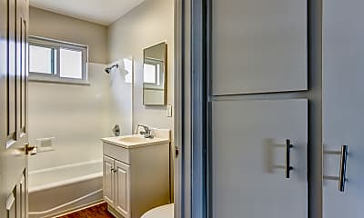 Bathroom, Mosaic Apartments, 2