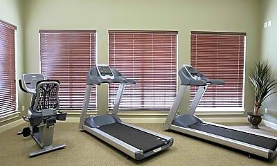 Fitness Weight Room, Brookview Village, 1