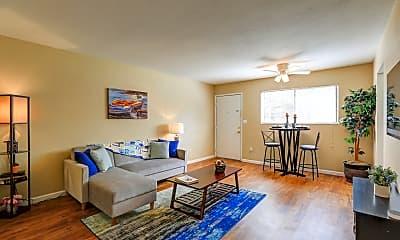 Living Room, Liv Apartments, 1