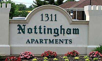 Community Signage, Nottingham Apartments, 1