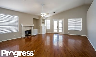 Living Room, 7424 N Mountain Thicket St, 1