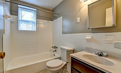 Bathroom, Parc One Apartments, 2