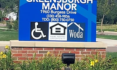 GREENSBURGH MANOR SENIOR LIVING, 1