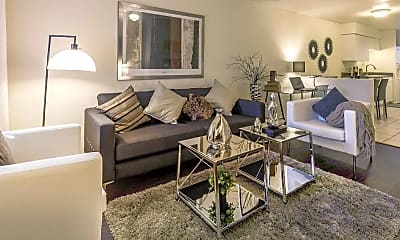 Living Room, Village Point Apartments, 0