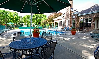 Pool, Yorktown Estates, 1