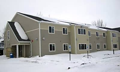 Building, Oxford Apartments, 1