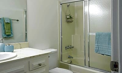 Bathroom, Tuscany Apartments, 2