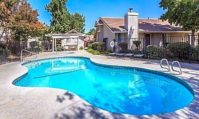 Pool, Bear Creek Park & Creekside Apartments, 1