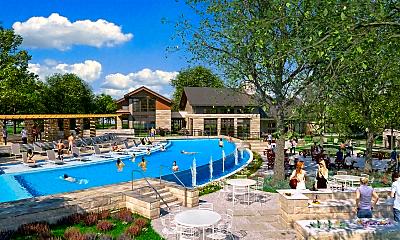 Pool, Park at Estancia, 0