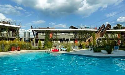 Pool, Eco Modern Flats, 2