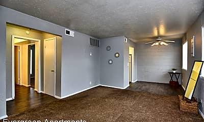 Living Room, 8314 E 25th Pl, 0