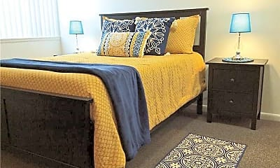 Bedroom, Eastwind Apartments, 2