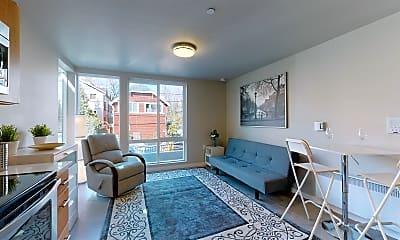 Living Room, 917 SW Holden St, 1