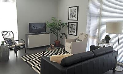 Living Room, King Street Lofts, 1