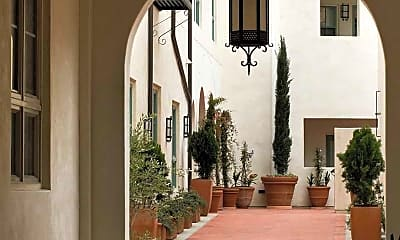 Courtyard, The Andalucia, 2