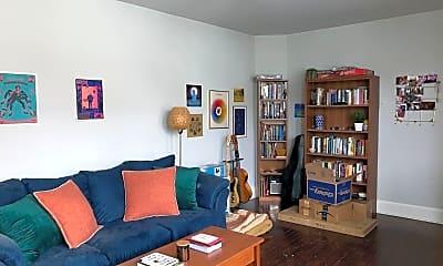Living Room, 650 S 51st St, 2