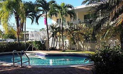 Pool, The Jasmine Apartments, 0