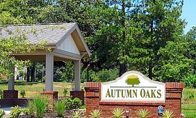 Community Signage, Autumn Oaks, 1