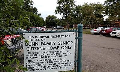 Dunn family senior citizens apartments, 2
