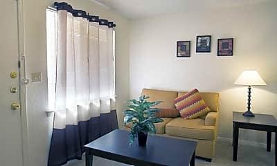 Living Room, Desert Sun, 1