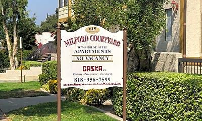 Milford Apartments, 1