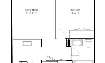 Community Signage, River Run Senior Apartments, 2